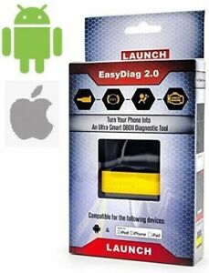 Launch X431 Easydiag 2 0 Diagnostic Tool Free Fast Shipping