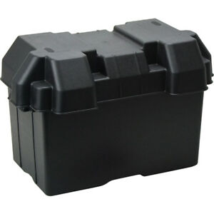 Battery Box Large For Dual Battery System Caravan Car 4wd Boat Battery Carry Box