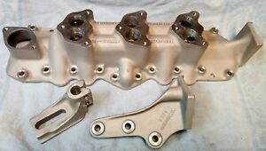 1932 48 Flathead Ford 3 Carb Intake Manifold With Brackets New