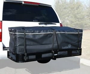 Large Hitch Tray Cargo Carrier Bag 60 X 24 X 24 Hitch Bag 100 Waterproof