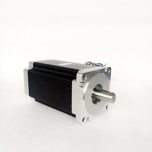 8 lead Shaft 15 875 With Keyway Nema34 Stepper Motor 158mm 12n m 1700oz