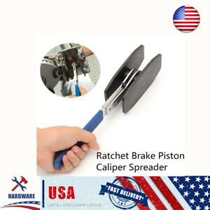 Us Car Steel Ratchet Brake Piston Caliper Press Spreader Twin Quad Caliper Tools