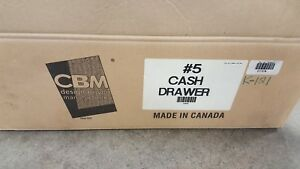 Cbm 5 Manual Release Cash Drawer A08025 New