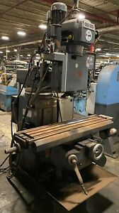 Lagun Ftv 2 Cnc Vertical Knee Mill 10 x50 Table Crusader Series M 40 Taper