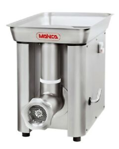 Mainca Pc98 g Commercial All Stainless 32 Meat Grinder 3 Phase Large Tray