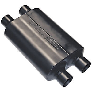 Flowmaster Universal Super 40 Muffler 2 50 Dual In 2 50 Dual Out