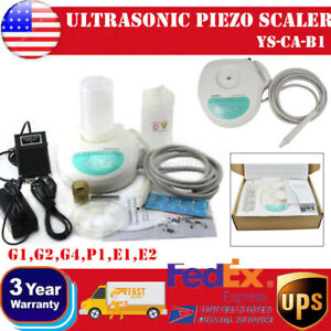 Dental Piezo Ultrasonic Scaler Self Contain Water Bottle Handpiece Cavitron Tips