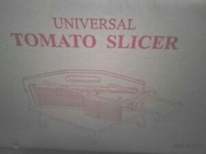 Commercial Tomato Slicer 1 4 cutting Machine Equipment Restaurant New Free Ship