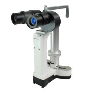 Portable Hand Held Slit Lamp Led Bulb Total 10x And 16x Magnification