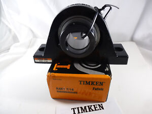1 New Timken Rak1 7 16 Pillow Block Bearing