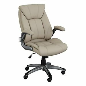 Norwood Commercial Furniture Executive Chair With Flip up Arms Champagne Nor o