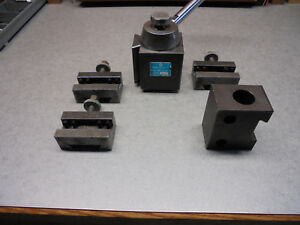 Yuasa Tool Post With 4 Holders b Size Aloris