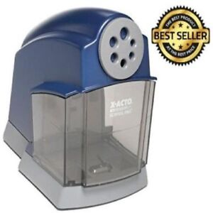 X acto Schoolpro Classroom Electric Pencil Sharpener Automatic Safety Technology