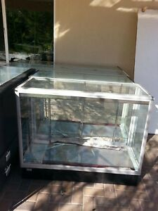 Glass Countertop Display Case Store Fixture Showcase local Pickup