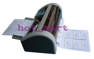 Pro Semi automatic Business Card Cutter 90 X 50mm Hot sale Ac220v Right Angle
