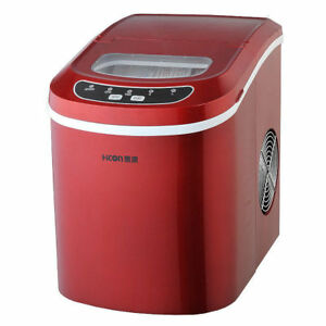 Household Ice Machine Commercial Portable Tea Shop Bar Ice Maker Machine 220v
