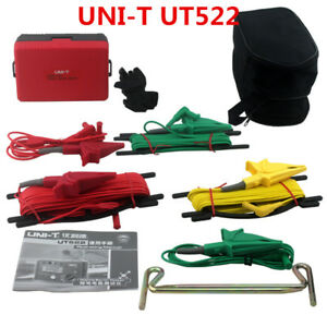 New Uni t Ut522 Lcd Display Digital Earth Ground Insulation Resistance Tester 2