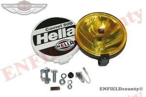 Universal Fit Hella Comet 500 Driving Lamp Yellow Spot Light Unit Cover cad