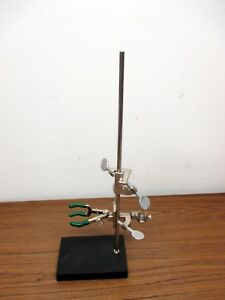 Beaker Holder Lab Set 6x4 Stand With Clamps