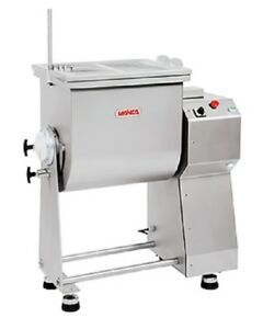 Mainca Rc 100 Commercial All Stainless Meat Food Mixer 1 Phase 110 Volts