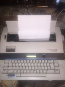 Smith Corona Electric Typewriter Xd 6600 With 2 Extra Ribbons Works