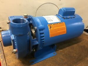 Goulds Centrifugal Pump 2hp Single Phase Model 3642