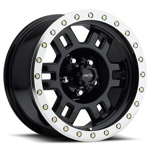 5 15 Vision Manx Black Wheels Rims 5x4 5 5x114 3 Jeep Wrangler Tj Yj