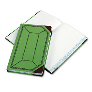 Record account Book Record Rule Green red 500 Pages 12 1 2 X 7 5 8