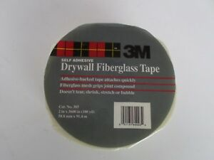 10x 3m Drywall Fiberglass Tape Tile Backer Board Tape 10 Roll Lot 2in X 100yards