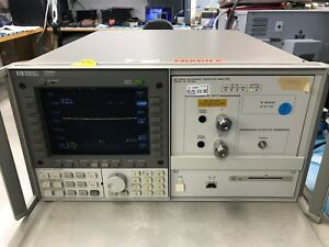 Hp 70820a Dc To 40 Ghz Microwave Transition Analyzer Hp 70004a
