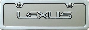 Lexus 3d Mini License Plate