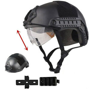 Tactical Airsoft Paintball SWAT Protective FAST Helmet W Goggle $31.09