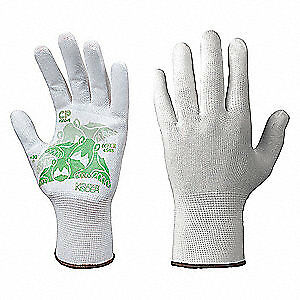 Turtleskin Glove Liners nylon polyester xl wht pr Cpb 430 White