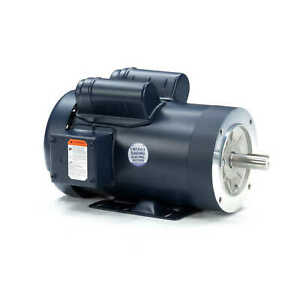 Leeson Electric Motor 121060 00 3 Hp 3450 Rpm 1ph 230 Volt 145tc Frame