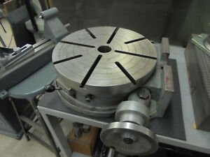 Troyke 15 Horizontal vertical Rotary Table