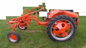 Allis Chalmers G Tractor Vintage Antique Collectible rare