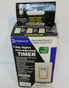 Intermatic Ei600lac Electronic Timer 7 day spdt 120 277 V