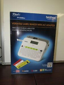 Brother Versatile Label Maker Pt d400ad 9e