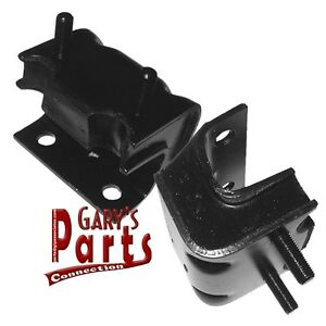 Engine motor Mounts l r Ford Mainline 1955 56 272 Cu in V 8 made In Usa