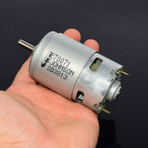 Johnson Rs 775 Electric Motor Dc 12v 18v 19000rpm High Speed Power Large Torque