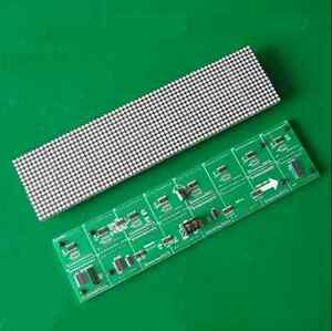 3 75 Unit Board 64 16 Dot Matrix Led Display Screen F3 75 Module 304 76mm New