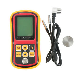 Gm100 Digital Ultrasonic Wall Steel Metal Thickness Gauge Meter Tester 1pcs An90
