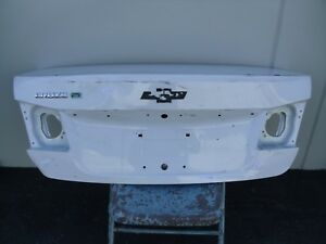 Chevy Cruze Trunk Lid With A Spoiler Model 2011 2012 2013 2014 White Oem