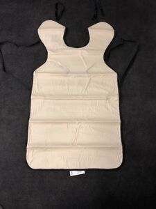 New Henry Schein X ray Protective Apron 5mm Technician Apron 100 7355 Beige