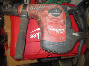 Hilti Te 50 Rotary Hammer Drill Combihammer In Good Working Order