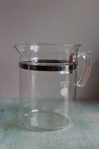 Pyrex Glass Borosilicate Beaker With Handle 1010 3000 Ml Usa Vintage Labware