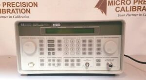 Hewlett Packard 8648c Signal Generator 3200 Mhz nist Traceable Cert