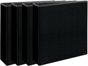 Avery Economy View Binders 3 Round Rings 460 sheet Capacity Black Multi Pac