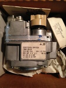 A New Robertshaw 7000 Bgver 24 Volt Electrically Actuated Gas Control Valve