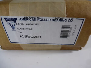 New American Roller Bearing Awor220h Outer Ring New Unopened Box Made Usa